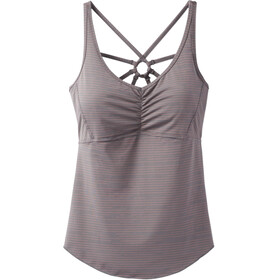 Prana Dreaming Mouwloos Shirt Dames grijs